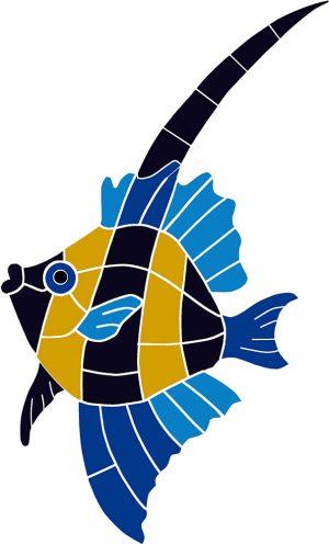 Japanese Fish Pool Mosaics