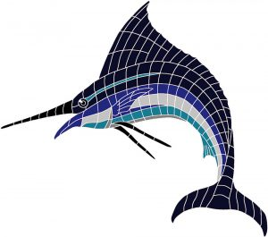Marlin Pool Mosaics