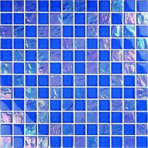 Royal Blue 1″ x 1″ (Twilight Series) Glass Pool Tile