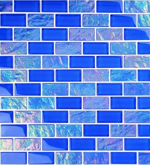 Royal Blue 1″ x 2″ (Twilight Series) Glass Pool Tile