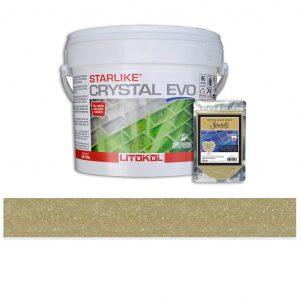 Agate – Starlike Crystal EVO 700 Epoxy Grout + J.20 Jewels Additive Tile Installation