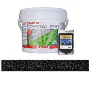 Black Pearl – Starlike Crystal EVO 700 Epoxy Grout + J.16 Jewels Additive Tile Installation