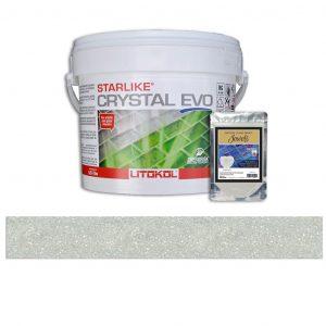 Chrysolite – Starlike Crystal EVO 700 Epoxy Grout + J.28 Jewels Additive Tile Installation