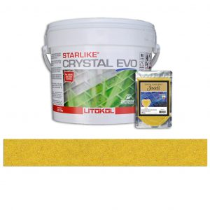 Citrine – Starlike Crystal EVO 700 Epoxy Grout + J.39 Jewels Additive Tile Installation