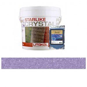 Lilac – Starlike Crystal EVO 700 Epoxy Grout + J.14 Jewels Additive Tile Installation