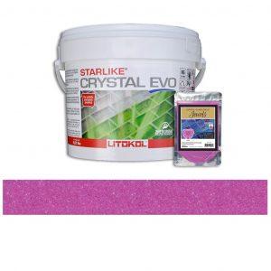 Rose – Starlike Crystal EVO 700 Epoxy Grout + J.22 Jewels Additive Tile Installation