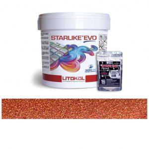 Rusty – Starlike EVO 113 Neutro Epoxy Grout + Metallic Additive Tile Installation
