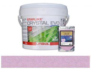 Tanzanite – Starlike Crystal EVO 700 Epoxy Grout + J.9 Jewels Additive Tile Installation