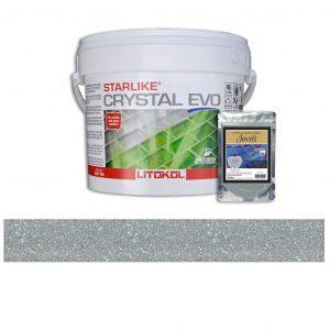 Tourmaline – Starlike Crystal EVO 700 Epoxy Grout + J.30 Jewels Additive Tile Installation