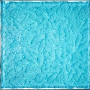 Turquoise 6″ x 6″ (Moonscape Series) Glass Pool Tile