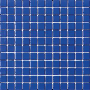 Blue Marine 1″ x 1″ (Solid Series) Glass Pool Tile