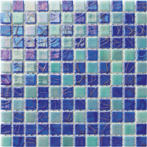 Brava 1″ x 1″ (Costa Series) Glass Pool Tile