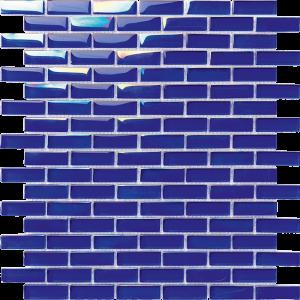 Dark Blue 1/2″ x 2″ (Sea Series) Glass Pool Tile
