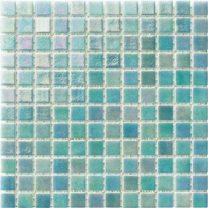 Saphire 1″ x 1″ (Iris Series) Glass Pool Tile