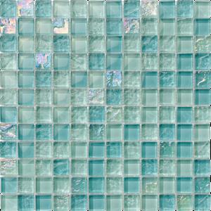 Inagua 1″ x 1″ (Bahama Series) Glass Pool Tile