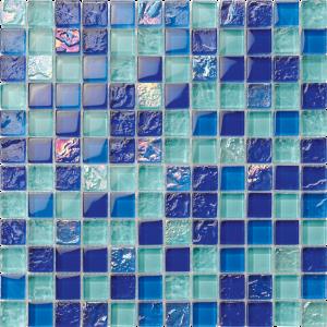Nassau 1″ x 1″ (Bahama Series) Glass Pool Tile