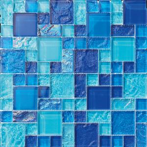 Nassau Mixed (Bahama Series) Glass Pool Tile