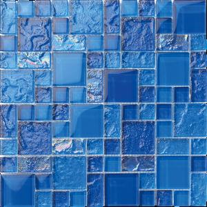 Bimini Mixed (Bahama Series) Glass Pool Tile