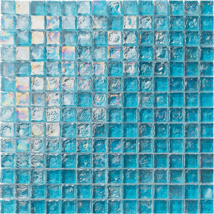 Turquoise 1″ x 1″ (Ocean Series) Glass Pool Tile