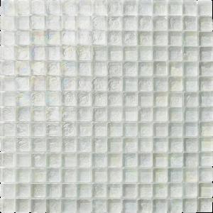 White 1″ x 1″ (Ocean Series) Glass Pool Tile