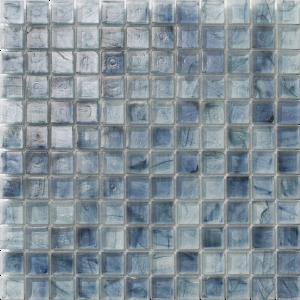 Dark Blue 1″ x 1″ (Clear Series) Glass Pool Tile