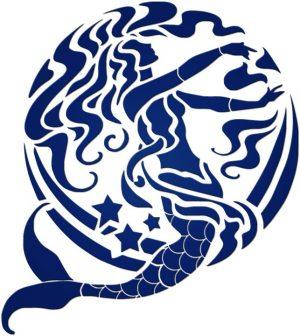 Blue Mermaid Pool Mosaics