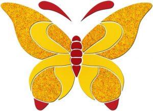 Butterfly Pool Mosaics