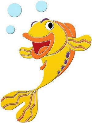 Fun Fish 1 Pool Mosaics