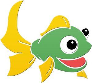 Fun Fish 2 Pool Mosaics