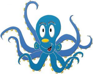 Fun Octopus Pool Mosaics