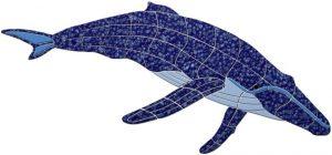 Humpback Whale Pool Mosaics
