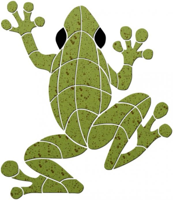Large Frog Pool Mosaics