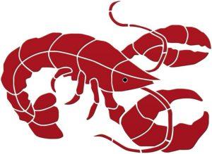 Maine Lobster Pool Mosaics