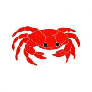 Red Crab Pool Mosaics