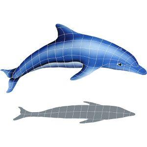 Dolphin in the Sun A Pool Mosaics