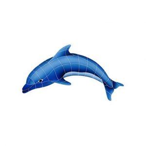 Dolphin Left Pool Mosaics