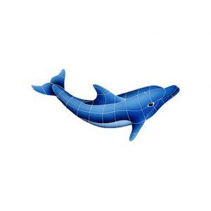 Dolphin Right Pool Mosaics