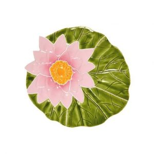Lily Pad with Flower Pool Mosaics