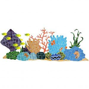 Ocean Reef Pool Mosaics