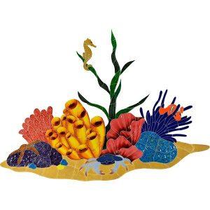 Tropical Reef Pool Mosaics