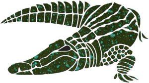 Alligator Pool Mosaics