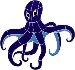 Octopus Pool Mosaics