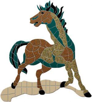 Wild Horse Pool Mosaics