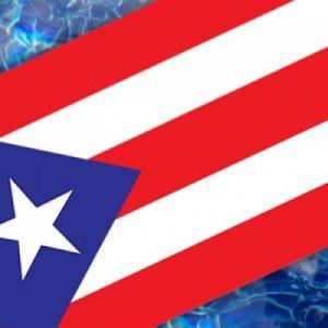 Drop-In Puerto Rico Flag Pool Mat Pool Mosaics