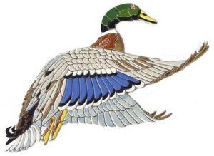 Mallard Duck Pool Mosaics