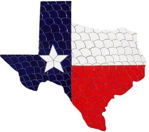 State of Texas Pool Mosaics