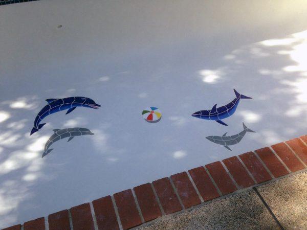 Beach Ball Pool Mosaics