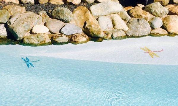 Dragonfly Pool Mosaics