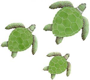 Loggerhead Turtle Group Pool Mosaics