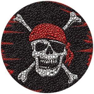 Drop-In Pirate Pool Mat Pool Mosaics